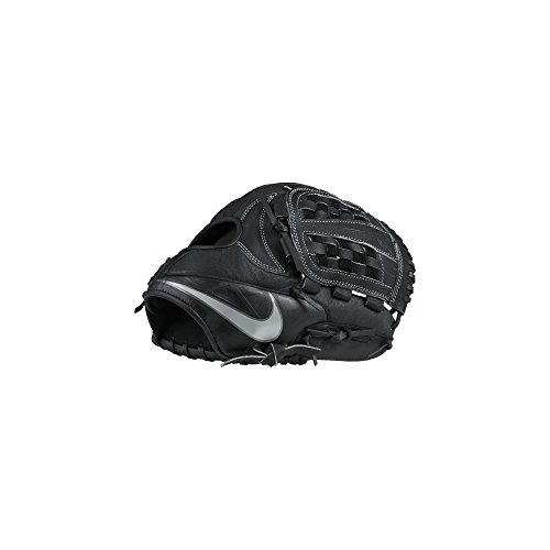 Nike MVP Edge Basket Baseball Fielding Glove Black/White Size 11.5 inch Right Hand