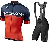 Men's Cycling Suit Self-Locking Zipper Moisture