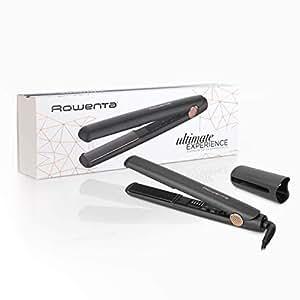 Rowenta Profesional Ultimate Experience SF8210F0 - Plancha profesional, Alisado profesional, tecnología termocontrol con 5 ajustes de temperatura para ...