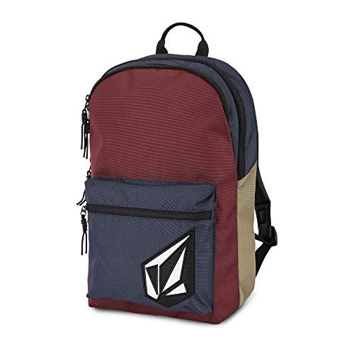 Backpack Embroidered Volcom - Volcom Young Men's Academy Backpack Accessory, Cabernet, One Size Fits All