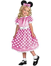 Disney Minnie Mouse Toddler Girls' Costume, Pink