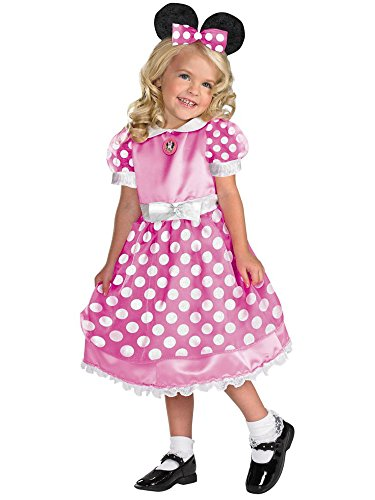 Minnie Mouse Clubhouse  - Pink Costume - Medium (3T-4T) -