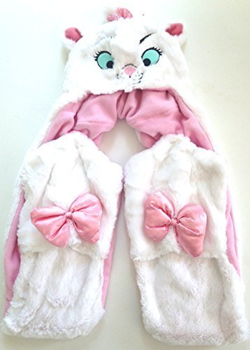Disney Parks Marie Cat The Aristocats Plush Hat with Scar...