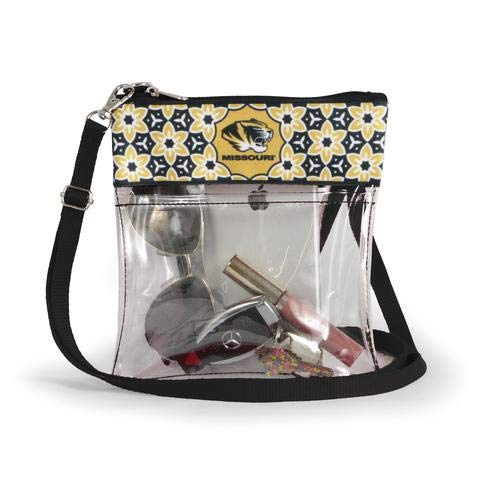 Canyon Outback Clear Crossbody Game Day Bag (Stadium Approved) ... (Missouri)