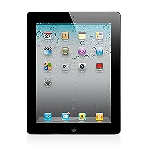 Apple iPad 2 MC769LL/A Tablet 16GB, WiFi, Black (Refurbished)