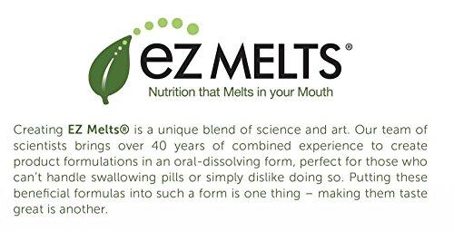 EZ Melts D3 as Cholecalciferol, 5,000 IU, Sublingual Vitamins, Vegetarian, Zero Sugar, Natural Apple Flavor, 90 Fast Dissolve Tablets by EZ Melts (Image #5)