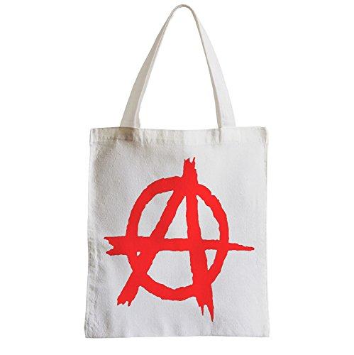 Große Tasche Sack Einkaufsbummel Strand Schüler Anarchie-Regeln Politik Ruler Keine Freiheit