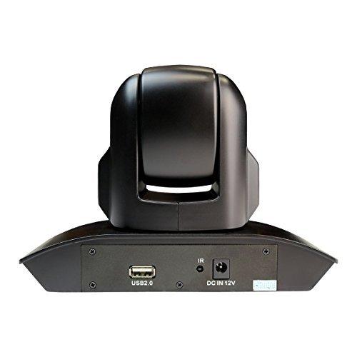 HuddleCamHD 3XA 3x Optical Zoom 1080p Camera with Mic, 72 Degree FOV Lens, Black by HuddleCamHD (Image #2)