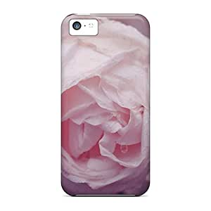 High-quality Durable Protection Cases For Iphone 5c(dew Rose)