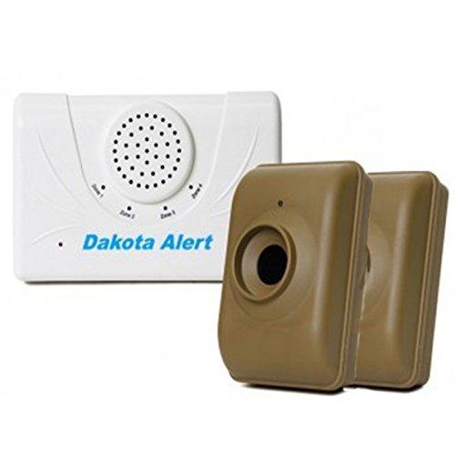 Duty Cycle Half Mile Wireless Driveway Alarm Bundle by Dakota Alert