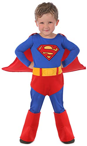 Baby Superman Costume 12 18 Months (Princess Paradise Baby Superman Cuddly Costume, Red, 12 to 18)