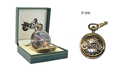 Motorcycle Pocket Watch P-300