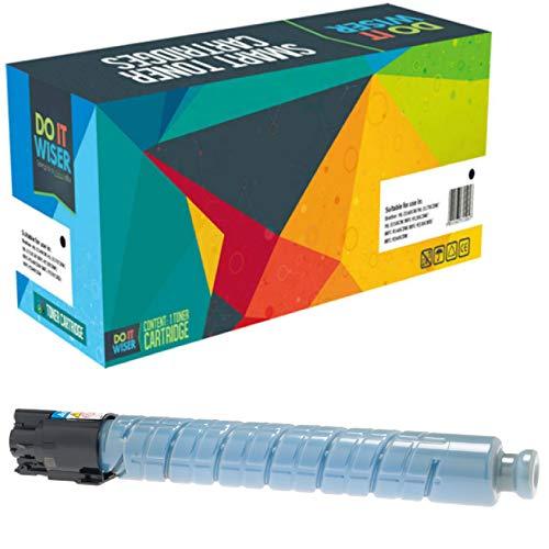 Do it Wiser Compatible Toner Cartridge Replacement for Ricoh Aficio MP C5000 MP C4000 Lanier LD540C LD550C   841287 (Cyan - 17,000 Pages)