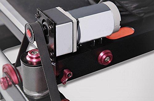 Movofilms pista rueda Dolly (eléctrico) con giratorio silla de Director Motor Drive Doble Eléctrico Pedal y 24 V adaptador de alimentación (mf-td-e): ...