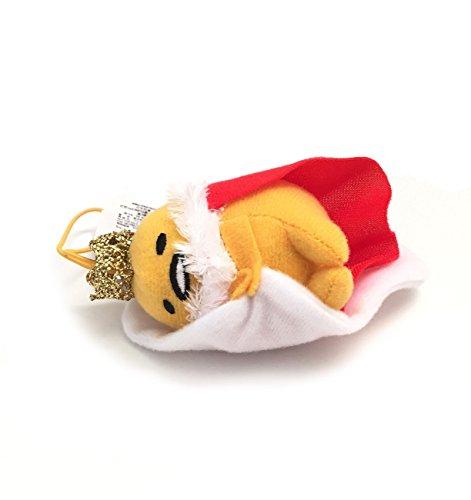 Sanrio Gudetama Lazy Egg Strap Plush Mascot ~ Gudetama Lazy King ~ RPG Game Series Type B -