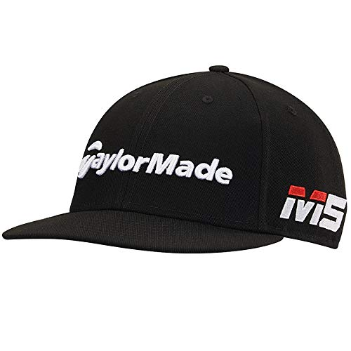 (TaylorMade 2019 New Era Tour 9Fifty Hat, Black)