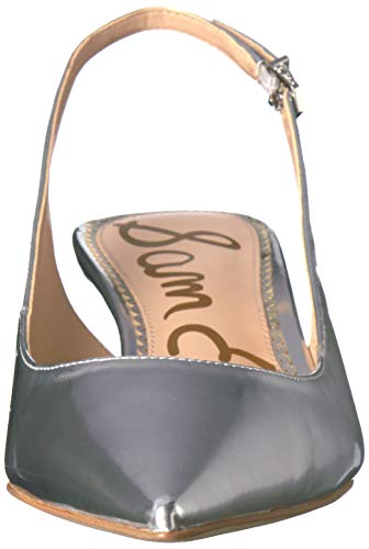 Soft Women's Leather Ludlow Pumps Edelman Sam Silver IOSxzw7qz