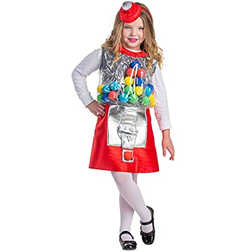 Gumball Machine Costume - Size Medium 8-10  sc 1 st  Amazon.com & Candy Costume for Kids: Amazon.com