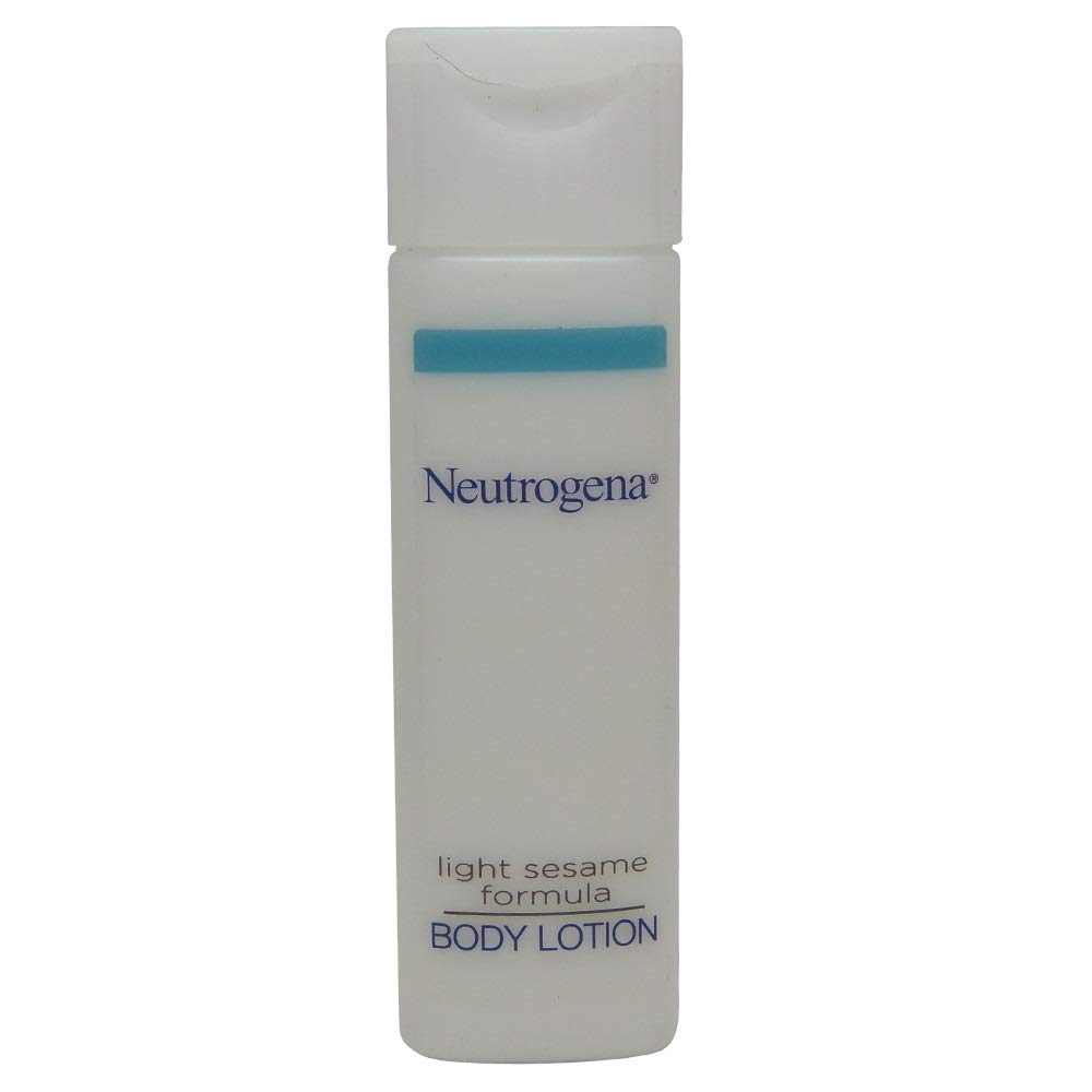 Neutrogena Body Lotion 0.8 oz travel size bottles -Lot of 24 each - Total of 19.2 oz