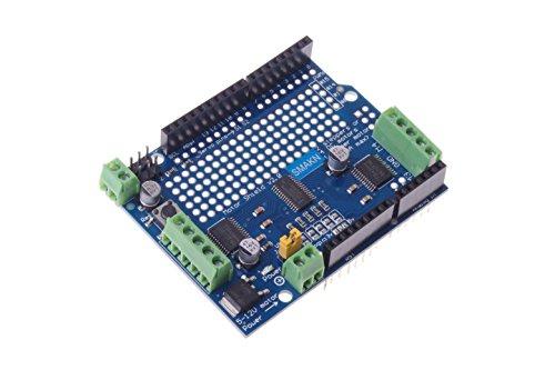 SMAKN® Motor/Stepper/Servo/Robot Shield for Arduino I2C V2 Kit W/ PWM Driver