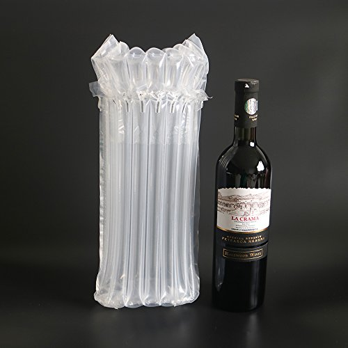Wine Bottle Protector 15 Packs Bubble Bags Free Pump