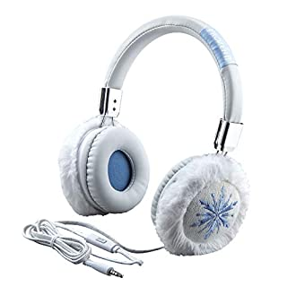 Disney Frozen 2 Kids Headphones Fashion with Built in Microphone, Stream Audio Playback Disney Plus, Anna Elsa Adjustable Kids Headband  Home Travel or Toys , Compatible with Apple Samsung Tablets