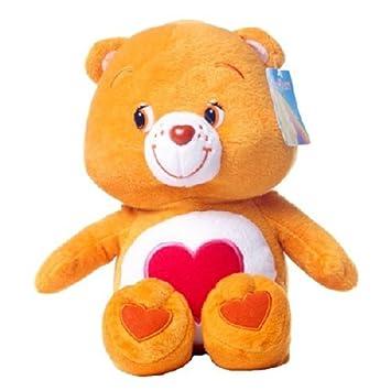 Tiernosito Soft 24/30cm Osos amorosos peluche Naranja con Corazón Rojo Care Bears - Calidad