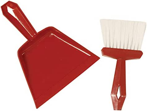 S M Arnold Dust Pan & Whisk Broom Set Cleaning Supplies