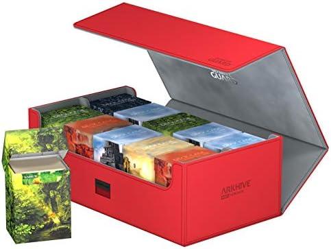 Caja de Cubierta Color Rojo Ultimate Guard UGD011140