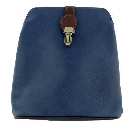 Royal Small Vera Bag Shoulder Vera Pelle Soft Pelle Blue Leather CBqcwP