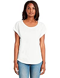 Womens Dolman Rolled Sleeves T-Shirt