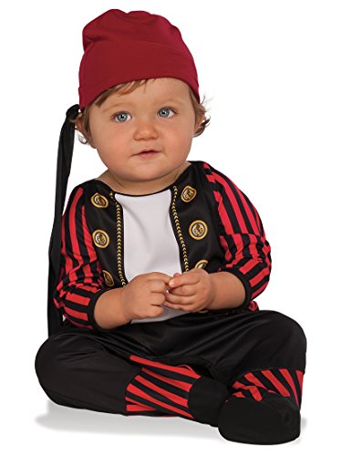 Rubie's 510351 Pirate Cutie Costume, Infant, Multicolor (Pack of 2)