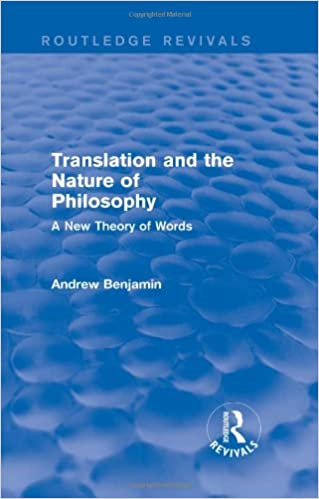 The nature of translation