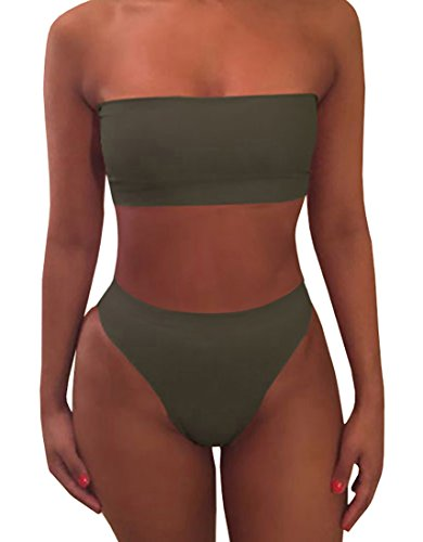 Ybenlow Womens Bandeau Swimsuit Bottom product image