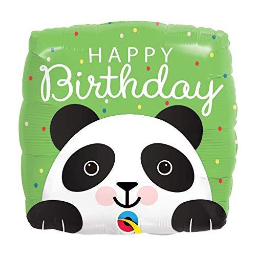 - Happy Birthday Panda Bear 18'' Mylar Balloon Birthday Party Decorations Supplies