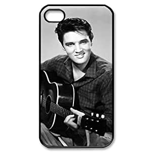 wugdiy DIY Protective Snap-on Hard Back Case Cover for iPhone 4,4S with Elvis Presley