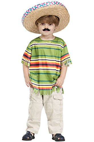 Little Amigo Mexican-Themed Party Fiesta Toddler Costume - Plus Size Circus Themed Costumes
