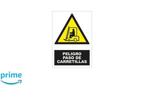 S21 Señalización ADR2050.G Señal peligro paso de carretillas ...