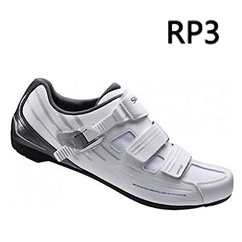 HOEWAY MTB Road SH-RP2 / RP3 SPD-SL Bicycle Men and Women Ventilation Shoes Black White Mountain Road Universal RP3 White 44 ()