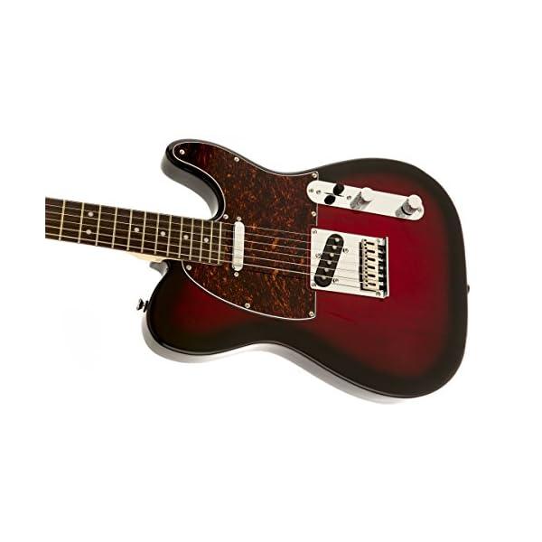 Squier By Fender Standard Telecaster Antique Burst Electric Guitar