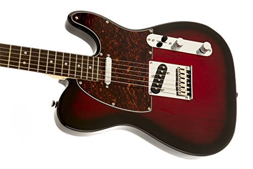 squier by fender 321200537 standard telecaster electric guitar antique burst rosewood. Black Bedroom Furniture Sets. Home Design Ideas