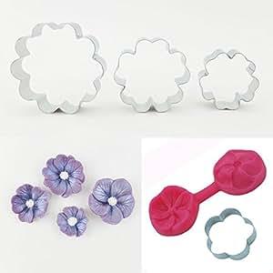 Blossom Sugar Art Fleur Mould & 4 Cutters, Wedding, Flower