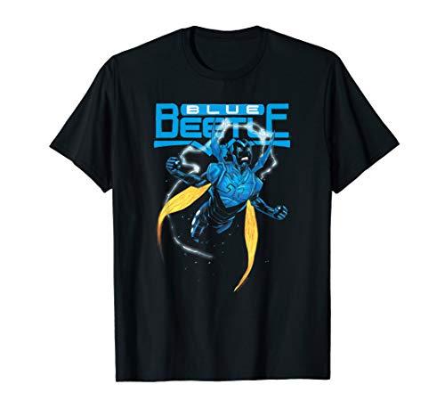 (Justice League Blue Beetle T Shirt)