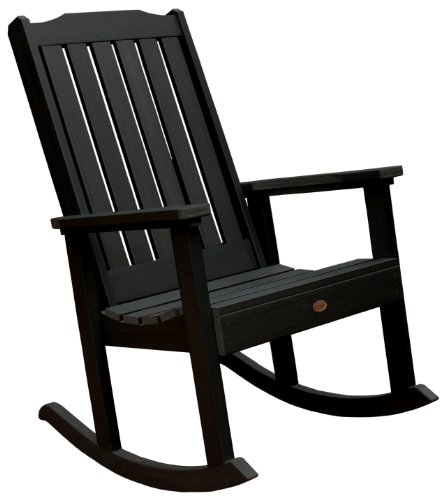 Highwood Lehigh Rocking Chair, Black