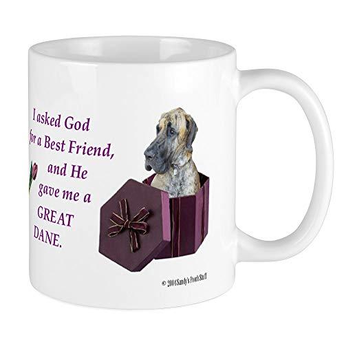 CafePress Great Dane Mug (Brindle) Unique Coffee Mug, Coffee Cup