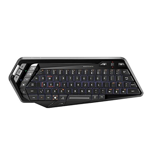6. Mad Catz S.T.R.I.K.E.M Wireless Gaming Keyboard