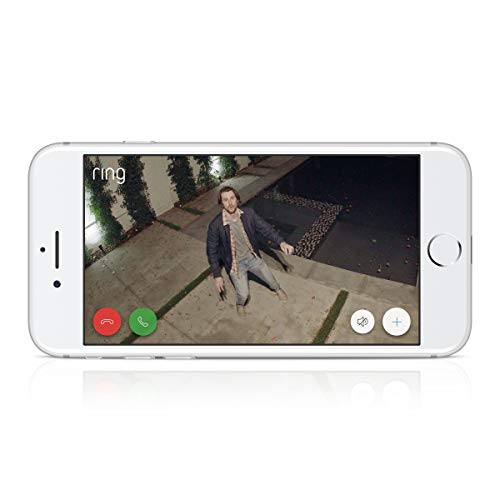 Ring Spotlight Cam Battery HD Security Camera with Built Two-Way Talk and a Siren Alarm, White, Works with Alexa - 3-Pack