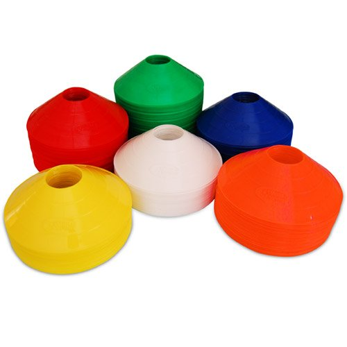 Set of 25 World Sport Disc Cones (6 Colors to Choose From)