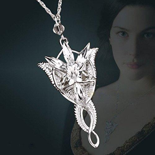 The lord of the rings elf queen arwen evenstar pendant import it all the lord of the rings elf queen arwen evenstar pendant necklacenecklace for women aloadofball Gallery