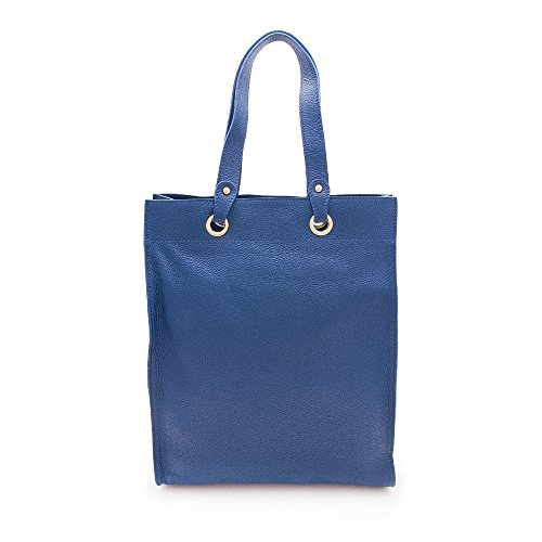 Hobos Azul High Marino Small Handbag Shoulder compartments Big Bags and Multiple Handbag Zerimar Handbag Quality Women's Leather Women's aWqR5ywA
